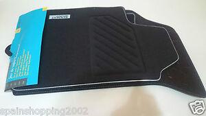 details sur 4 tapis de sol textile renault sport clio ii 2 rs original oem