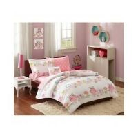 TWIN Bedding For Girls Kids Comforter Sets Little Girl Owl ...