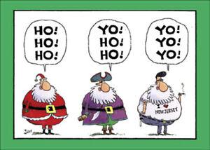 Nobleworks Yo Yo Yo Box Of 12 Funny Christmas Cards