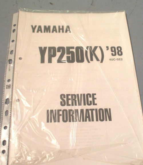 small resolution of yp250 wiring diagram wiring diagram str simple wiring diagrams yamaha yp 250 k 1998 4uc se2
