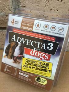 Advecta 3 For Dogs : advecta, Advecta, X-Large, Month, Supply, Authentic
