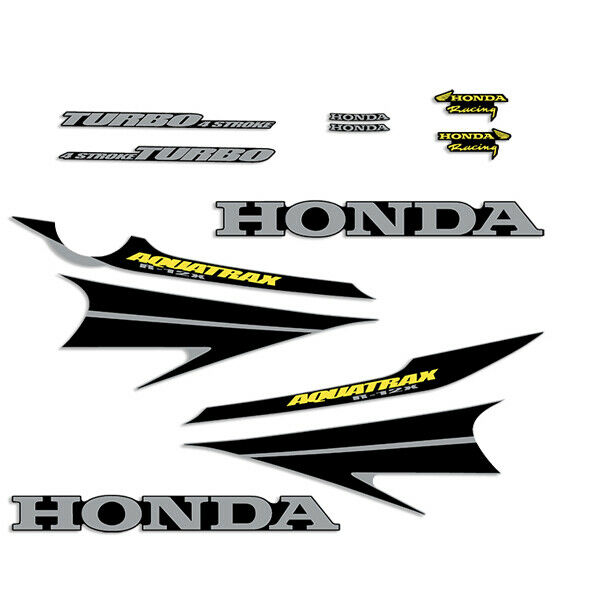 Honda Aquatrax r-12x Waverunner Jet ski Decals Kit 2002