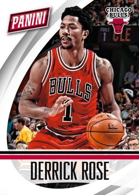 Derrick Rose Bulls 2014/15 2015 Panini national convention ...