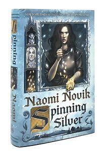 Spinning Silver Naomi Novik : spinning, silver, naomi, novik, Naomi, Novik, Spinning, Silver, First, Edition