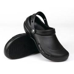 Crocs Kitchen Shoes Space Saver Design Black Bistro Clogs Professional Chef Shoe Work Image Is Loading