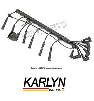 For BMW E32 735i 735iL E34 535i Spark Plug Wire Set OEM