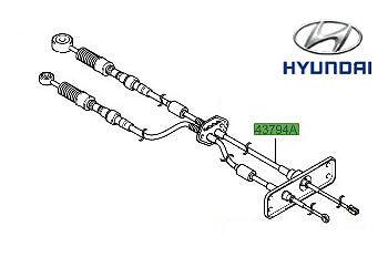 Genuine (OE) Hyundai Matrix Gear Linkage Cables P/N