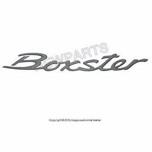 For Porsche Boxster Genuine For Porsche Emblem