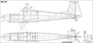 BIG LIFT. Motormodell für Flugzeug- oder Huckepackschlepp
