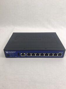 Juniper Networks SRX100H2 8-Port 10/100 Security VPN Firewall SRX100 w/ AC adap. 8329380669778 | eBay