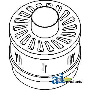 A-3761802M1 Massey Ferguson Parts ASSEMBLY PRE-CLEANER 230