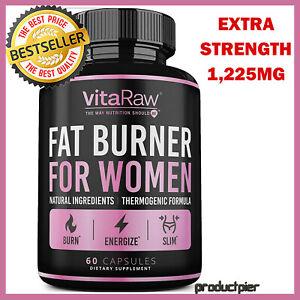 #1 Natural Fat Burner Diet Pills f/ Women Weight Loss ...