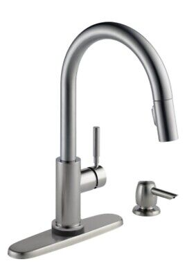 delta trask 19933tspsddst kitchen pulldown faucet
