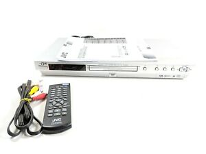 JVC DVD/Super VCD/CD Player Model XV-N33SL With Remote and