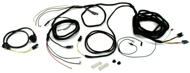 Mustang Tail Light Wiring Harness w/ Low Fuel Warning All