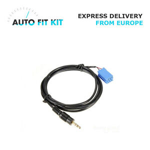 Blaupunkt Aux in input adapter lead for car radio iPod