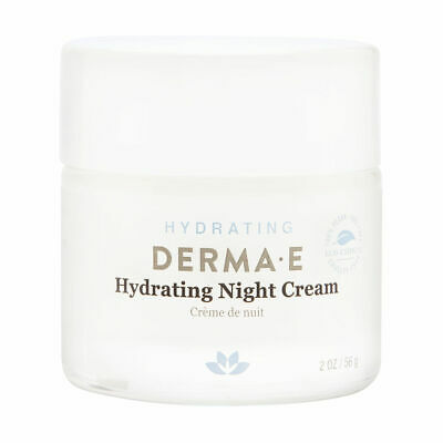 Derma E Hydrating Night Cream Hyaluronic Acid 2.0 oz Brand