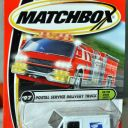 Matchbox 2000 #97 Postal Service Delivery USPS Mail Truck MOC On the Road Again