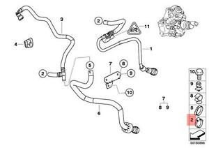 Genuine BMW E28 E30 E34 Radiator Cooling Hose Clamp x10