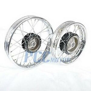 PW80 PY80 FRONT REAR RIM WHEEL SET FOR YAMAHA COYOTE 80 PW