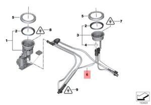 Genuine BMW E53 SUV Fuel Transfer Jet Pump Cables OEM