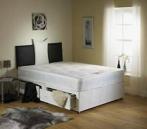 Image Is Loading Small Double Bed Open Coil Orthopaedic 4ft