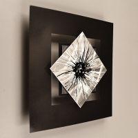 Modern Abstract Metal Wall Art Painting Sculpture Decor ...