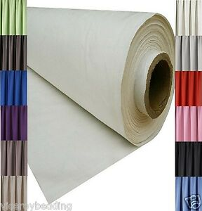 details about blackout thermal curtain lining fabric material 3 pass 12 colours sold per metre
