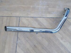 details about screaming eagle harley davidson chrome exhaust muffler header pipe oem ex rm