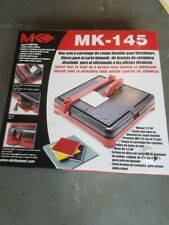 mk diamond mk 145 0 5 hp 4 1 2 in portable wet cutting tile saw 158252
