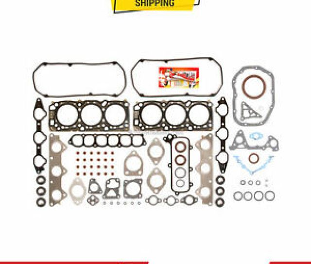 Image Is Loading Full Gasket Set For Mitsubishi Eclipse Amp Galant