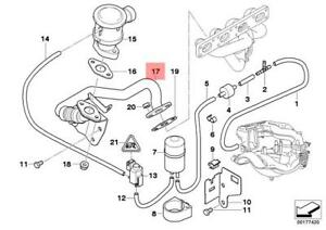 Genuine BMW E36 E46 Z3 Coupe Exhaust Manifold Air Intake