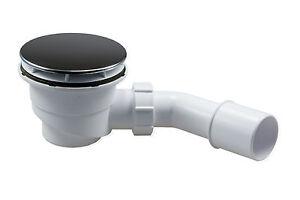 Ablauf Dusche flach H 85 mm Sifon Duschablauf Ø 90mm Abfluß D 90 mm