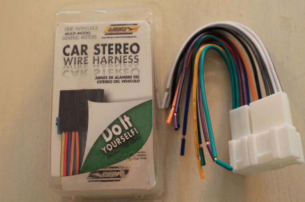 medium resolution of metra ibr whgm2 wiring harness for most 1987 2005 gm vehicles new n1 for sale online