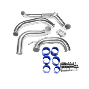 CXRacing Bolt-on Intercooler Piping Kit BOV For 89-99
