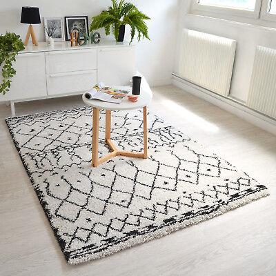 زقاق clunky صديق جيد tapis blanc noir