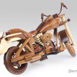 Toys Hobbies Harley Davidson Fatboy Tri Color Motorbike Models Handmade Wooden Gifts Hobbies Motorcycle Coronapack Ba