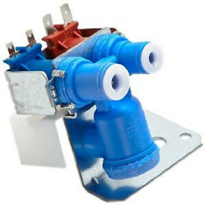 GE Refrigerator Dual Solenoid Inlet Water Valve WR57X10051