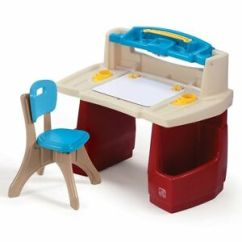 Childs Desk And Chair Cover Hire Company Liverpool Step2 702500 Deluxe Art Master Plastic Toy Red Ebay