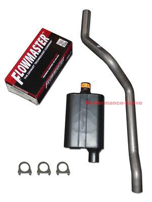 84 01 jeep cherokee 4 0 mandrel bent exhaust w flowmaster super 44 muffler ebay