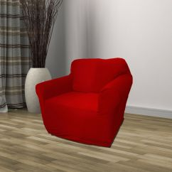 Christmas Chair Covers Ebay Golden Technologies Lift Chairs Red Jersey Sofa Stretch Slipcover Couch Cover