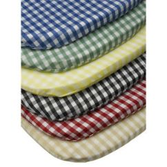 Chair Pads Kitchen Desk Girl Gingham Check Tie On Seat Pad 16 X Outdoor Dining Details About Cushion