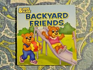 Hide Slide Backyard Friends 2007 Board Book The Clever Factory 639277303646 Ebay