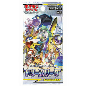 japanese pokemon card dream league