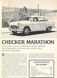 Checker Marathon : checker, marathon, Checker, Marathon, Original, Review, Print, Article