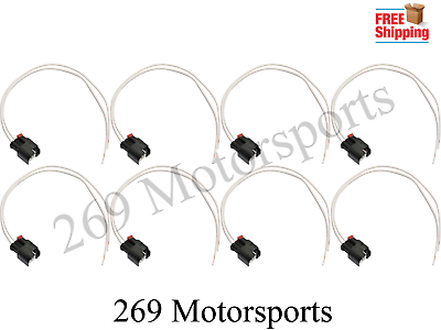 Fuel Injector Connector Wiring Harness Kit fits Wrangler