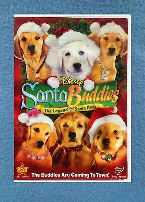 Puppy Paws Movie : puppy, movie, DISNEY, SANTA, BUDDIES, LEGEND, CHRISTMAS, MOVIE, RATED, 786936775082