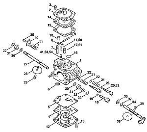 STIHL 030, 031 Chainsaw Carburetor Walbro WA2 Carb 1113