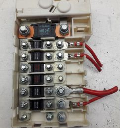 98 00 bmw 5 series e39 rear cable junction fuse box 61138370638 oem as54 for sale online [ 1200 x 1600 Pixel ]