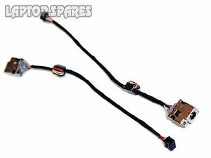 HP Envy 698659-SD1 DC Power Jack Socket Port and Cable